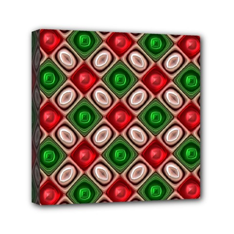 Gem Texture A Completely Seamless Tile Able Background Design Mini Canvas 6  x 6
