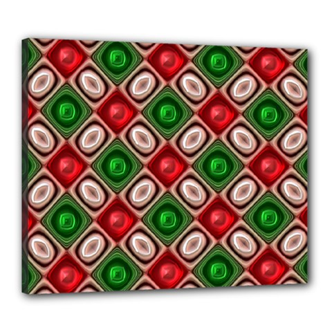 Gem Texture A Completely Seamless Tile Able Background Design Canvas 24  x 20