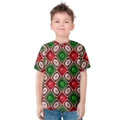 Gem Texture A Completely Seamless Tile Able Background Design Kids  Cotton Tee