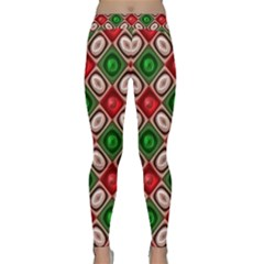 Gem Texture A Completely Seamless Tile Able Background Design Classic Yoga Leggings