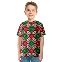 Gem Texture A Completely Seamless Tile Able Background Design Kids  Sport Mesh Tee