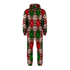 Gem Texture A Completely Seamless Tile Able Background Design Hooded Jumpsuit (Kids)