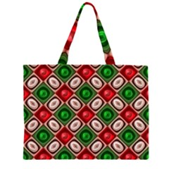 Gem Texture A Completely Seamless Tile Able Background Design Zipper Large Tote Bag