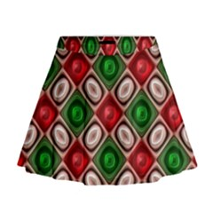 Gem Texture A Completely Seamless Tile Able Background Design Mini Flare Skirt