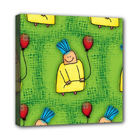 Party Kid A Completely Seamless Tile Able Design Mini Canvas 8  x 8