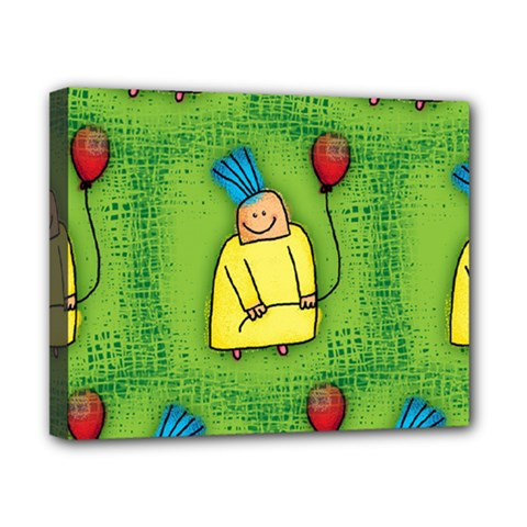 Party Kid A Completely Seamless Tile Able Design Canvas 10  x 8