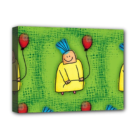 Party Kid A Completely Seamless Tile Able Design Deluxe Canvas 16  x 12