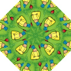 Party Kid A Completely Seamless Tile Able Design Golf Umbrellas