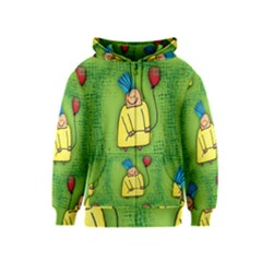 Party Kid A Completely Seamless Tile Able Design Kids  Zipper Hoodie