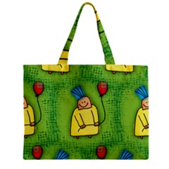 Party Kid A Completely Seamless Tile Able Design Zipper Mini Tote Bag
