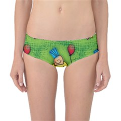 Party Kid A Completely Seamless Tile Able Design Classic Bikini Bottoms