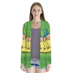 Party Kid A Completely Seamless Tile Able Design Cardigans