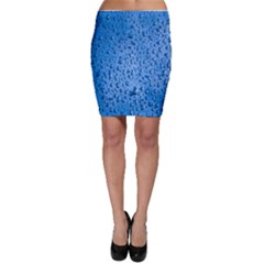 Water Drops On Car Bodycon Skirt