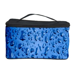 Water Drops On Car Cosmetic Storage Case