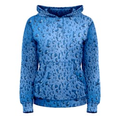 Water Drops On Car Women s Pullover Hoodie