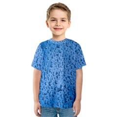 Water Drops On Car Kids  Sport Mesh Tee
