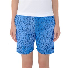 Water Drops On Car Women s Basketball Shorts