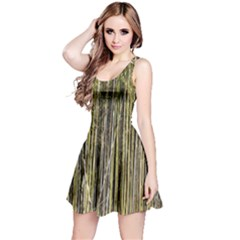 Bamboo Trees Background Reversible Sleeveless Dress