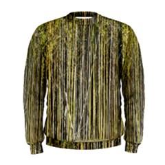 Bamboo Trees Background Men s Sweatshirt