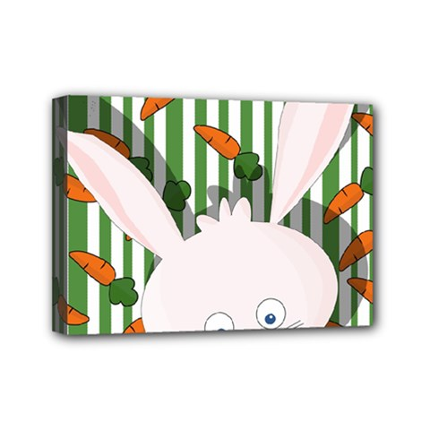 Easter bunny  Mini Canvas 7  x 5