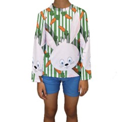 Easter bunny  Kids  Long Sleeve Swimwear