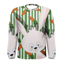 Easter bunny  Men s Long Sleeve Tee