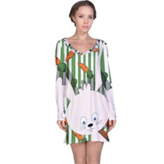 Easter bunny  Long Sleeve Nightdress