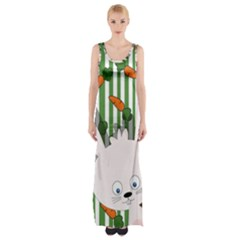 Easter bunny  Maxi Thigh Split Dress