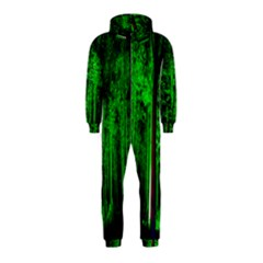 Spooky Forest With Illuminated Trees Hooded Jumpsuit (Kids)