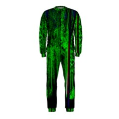 Spooky Forest With Illuminated Trees OnePiece Jumpsuit (Kids)