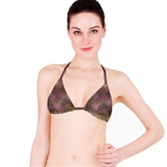 2000 Spirals Many Colorful Spirals Bikini Top