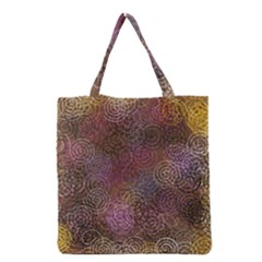 2000 Spirals Many Colorful Spirals Grocery Tote Bag