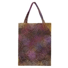 2000 Spirals Many Colorful Spirals Classic Tote Bag