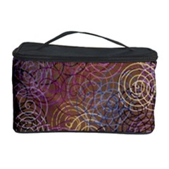 2000 Spirals Many Colorful Spirals Cosmetic Storage Case