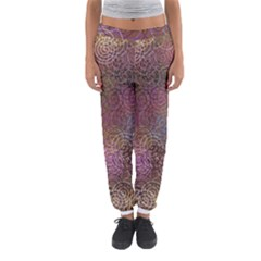 2000 Spirals Many Colorful Spirals Women s Jogger Sweatpants