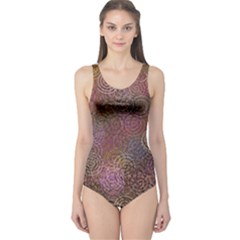 2000 Spirals Many Colorful Spirals One Piece Swimsuit
