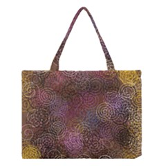 2000 Spirals Many Colorful Spirals Medium Tote Bag