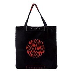 Albums By Twenty One Pilots Stressed Out Grocery Tote Bag
