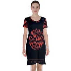 Albums By Twenty One Pilots Stressed Out Short Sleeve Nightdress