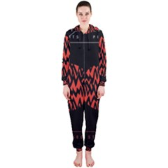 Albums By Twenty One Pilots Stressed Out Hooded Jumpsuit (ladies)