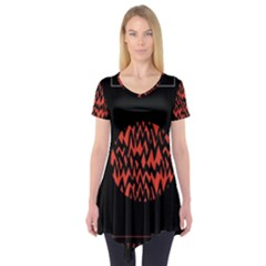 Albums By Twenty One Pilots Stressed Out Short Sleeve Tunic