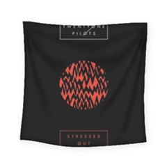 Albums By Twenty One Pilots Stressed Out Square Tapestry (small)