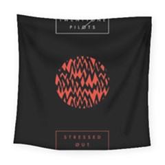 Albums By Twenty One Pilots Stressed Out Square Tapestry (large)