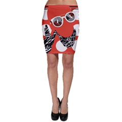 Twenty One Pilots Poster Contest Entry Bodycon Skirt