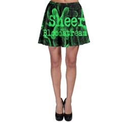 Bloodstream Single Ed Sheeran Skater Skirt