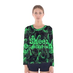 Bloodstream Single ED Sheeran Women s Long Sleeve Tee