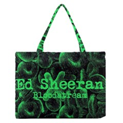 Bloodstream Single Ed Sheeran Medium Zipper Tote Bag