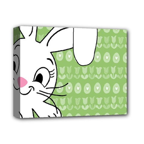 Easter bunny  Deluxe Canvas 14  x 11