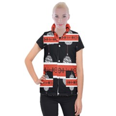 Poster Twenty One Pilots Women s Button Up Puffer Vest