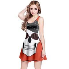 Poster Twenty One Pilots Skull Reversible Sleeveless Dress